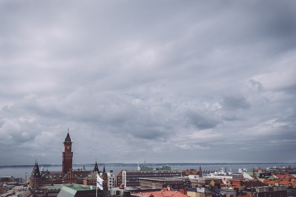 Bröllopsfotograf Sofiero slott Helsingborg Skåne