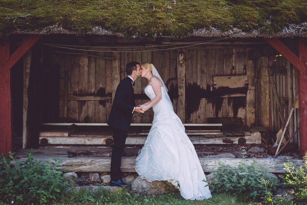 Bröllopsfotograf Kronovalls Slott Österlen