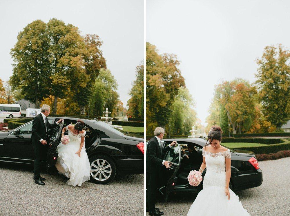 Bröllop på ett slott