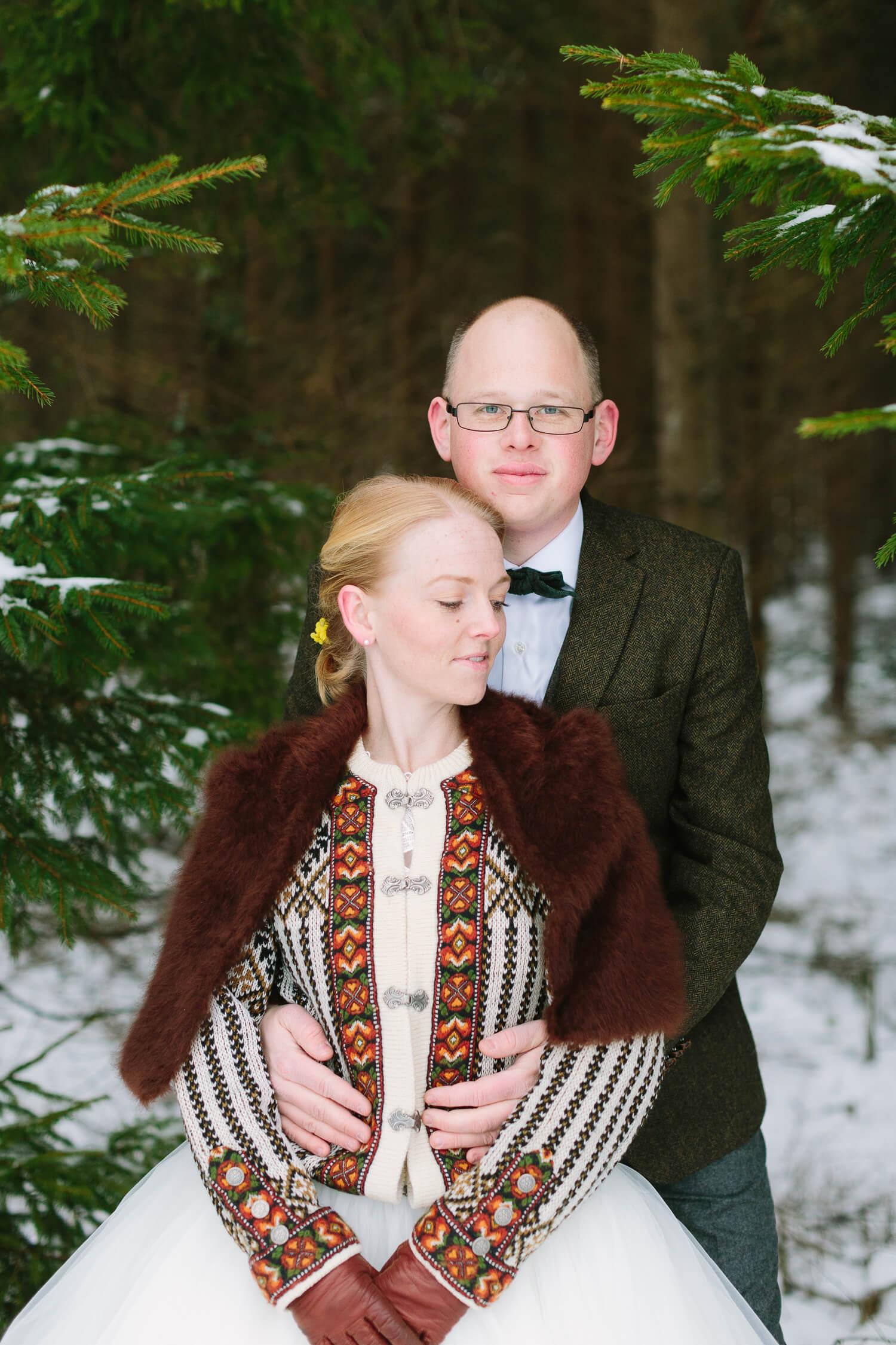 Vinterbröllop Småland Värnamo