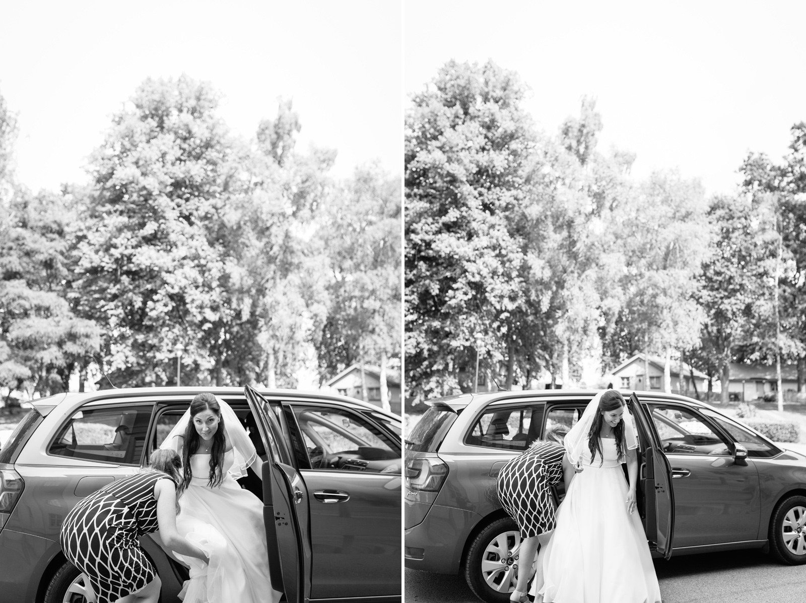 Romantsikt bröllop Skåne