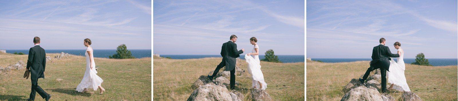 gotland sweden wedding