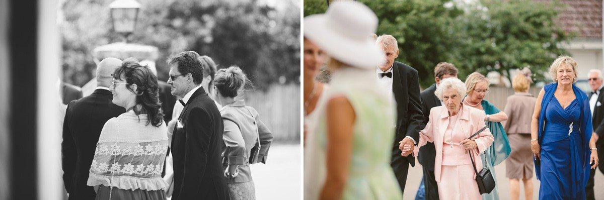 bröllopsgäster viken