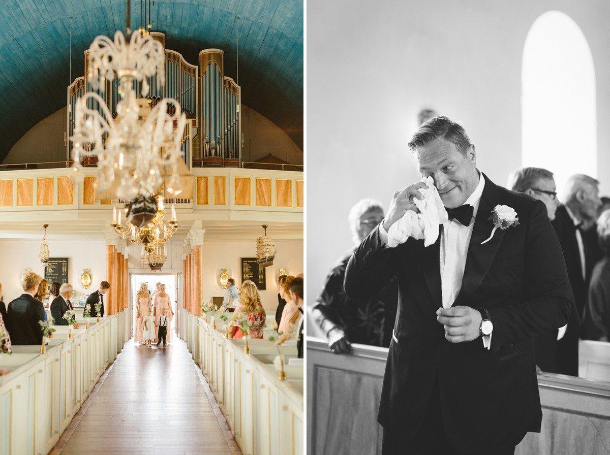 Retro vintage bröllop