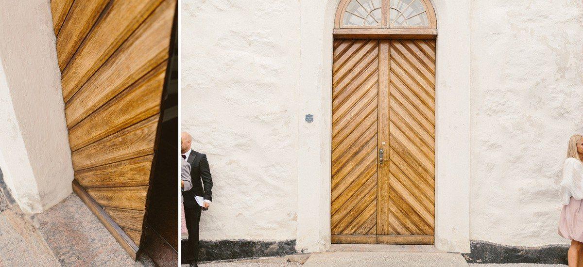 Vikens kyrka bröllopsfotograf