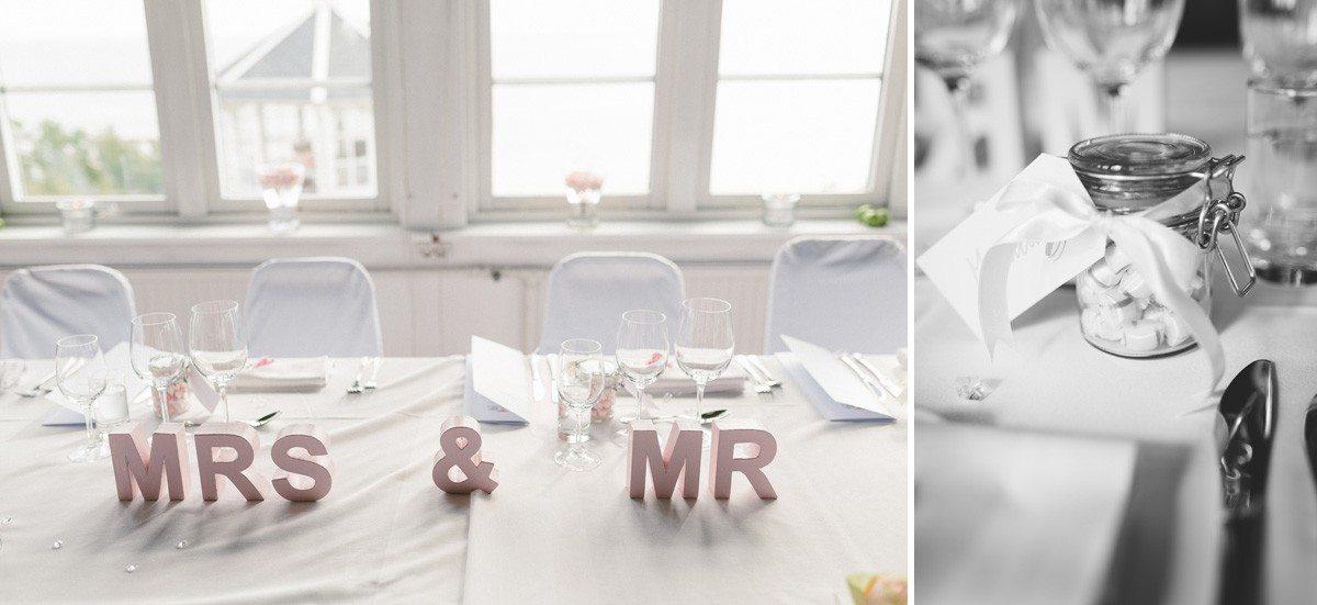 Bröllopsdekoration Grand Hotel