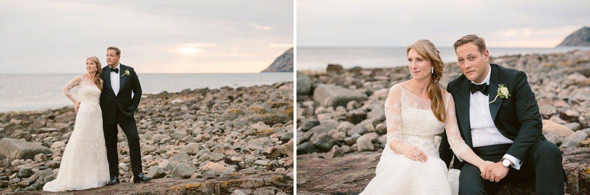 Bröllopsfotograf klippor Mölle Skåne