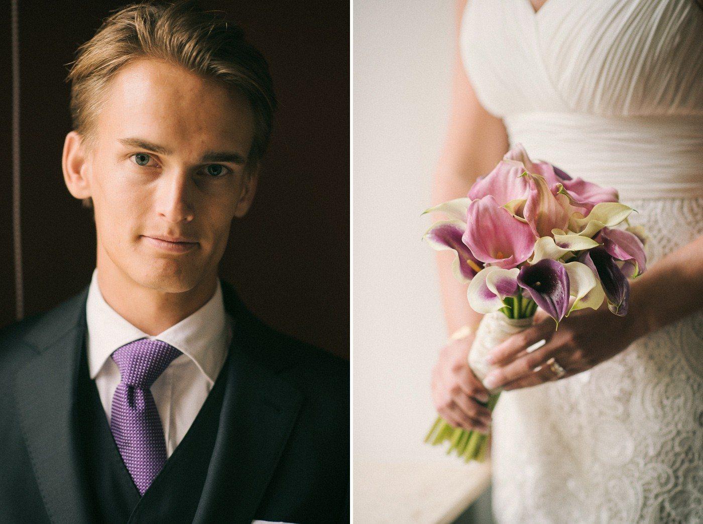 Brudgum Bröllopfotograf