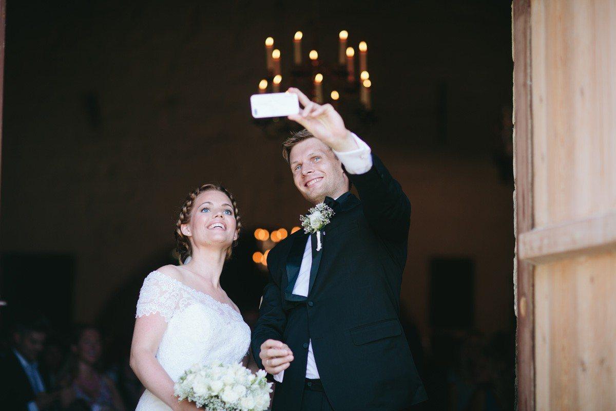 Bryllupselfie