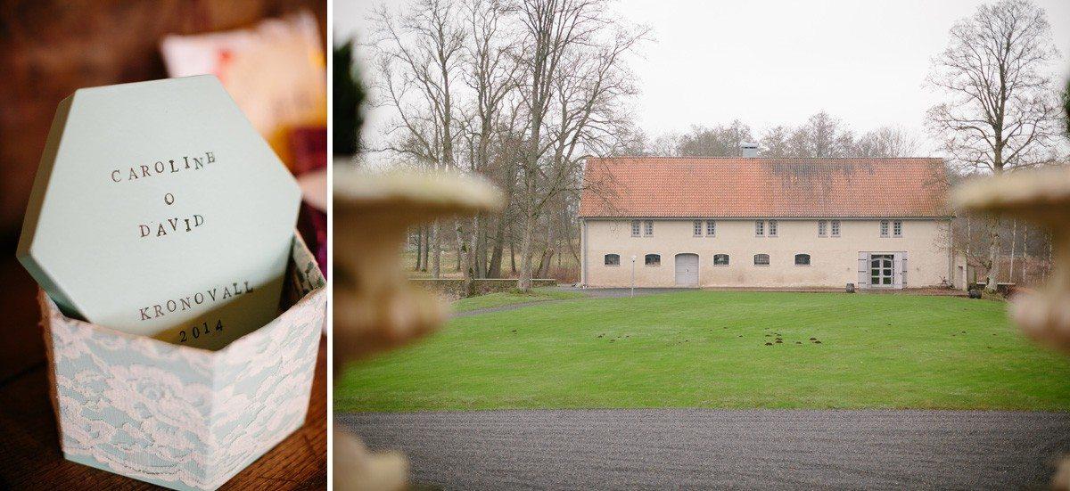 rustikalt bröllop kronovalls slott