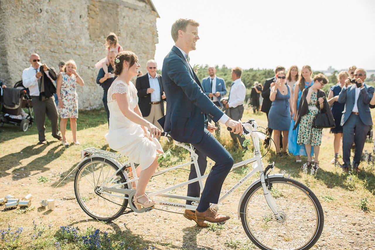 bröllopsfotografering Gotland
