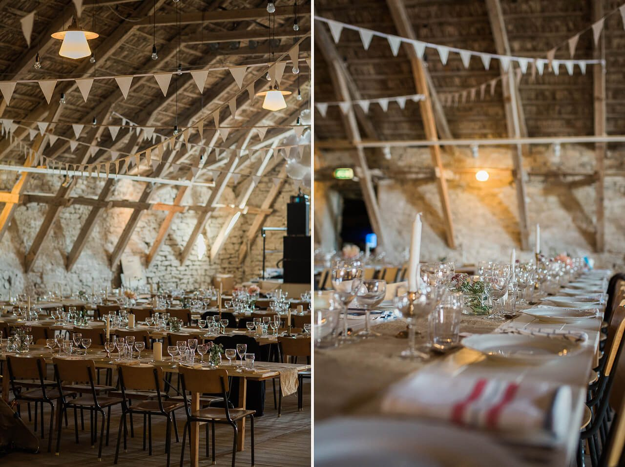 rustik bröllop gotland