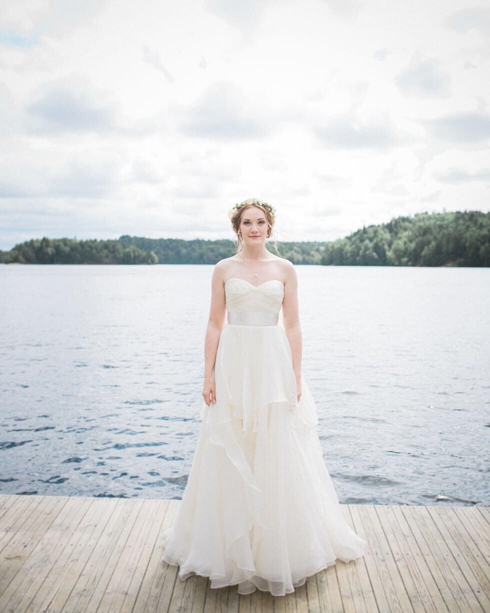 Bröllopsfotograf Villa Odinslund Göteborg