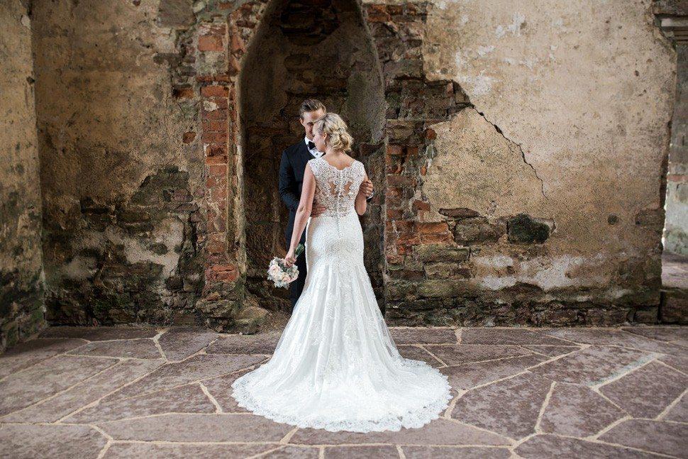 Bröllop Borgholms slottsruin Öland