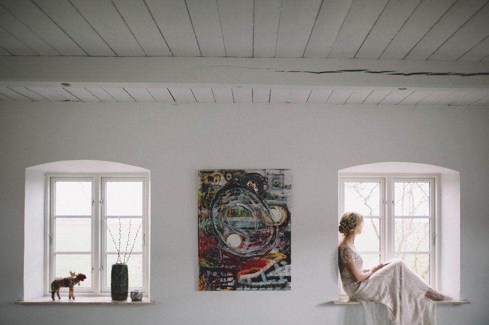 Bröllopsfoto vid Holmanäs Södra Skåne