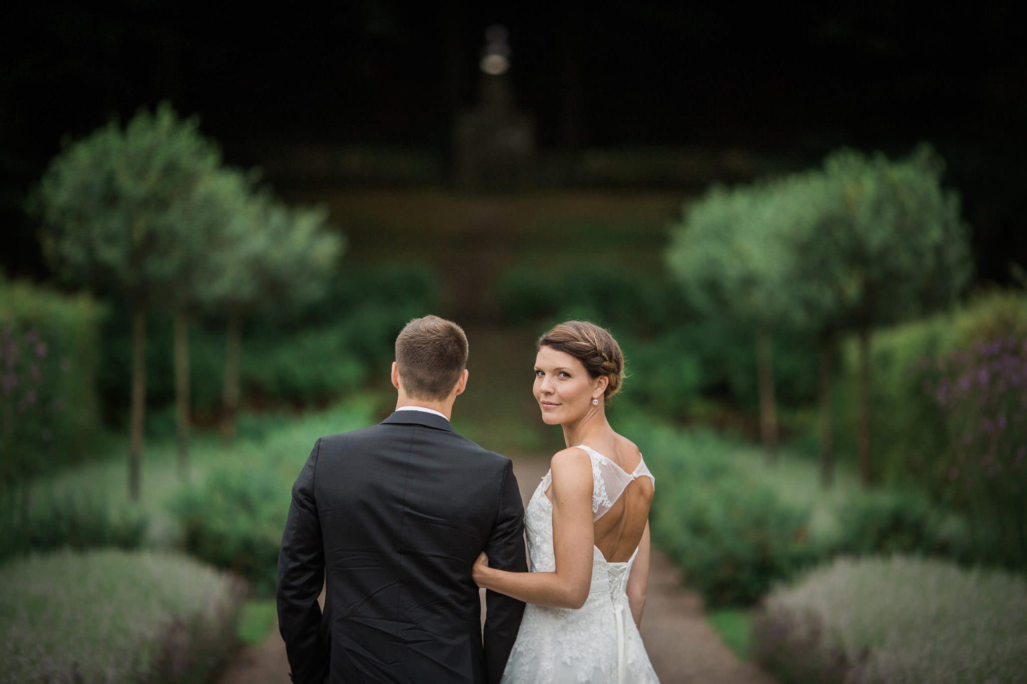 Bröllopsfotograf Norrvkens trädgårdar