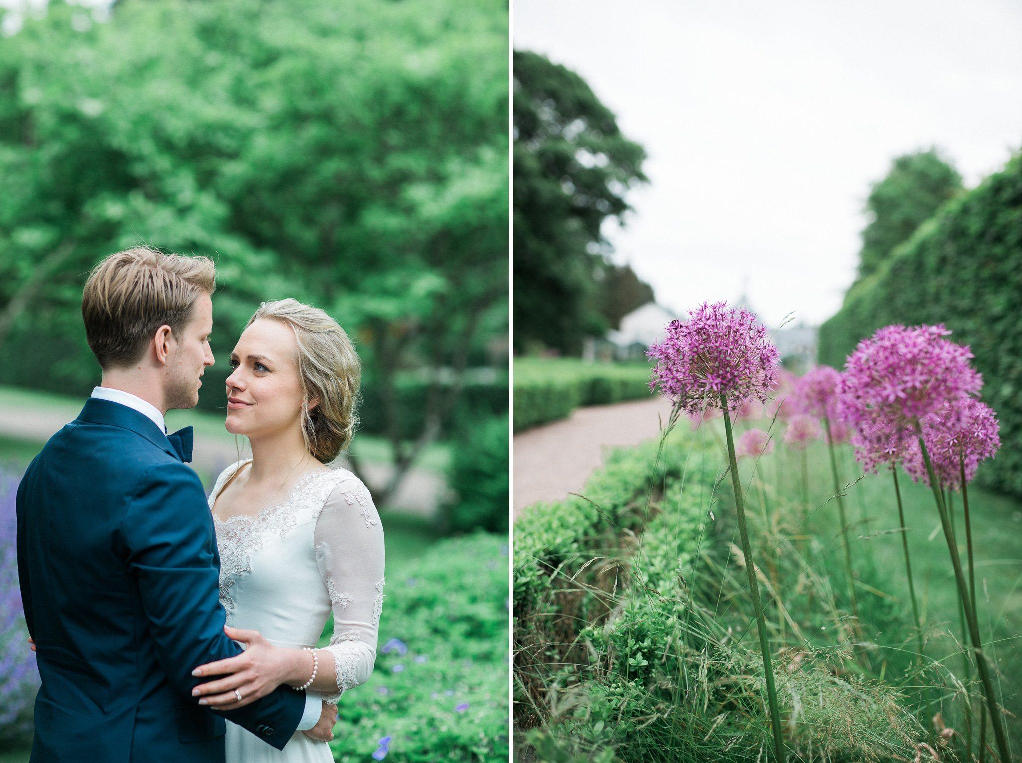 Bröllopsfotograf Hovs hallar Båstad Norrvikens trädgårdar