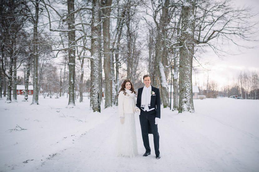 Vinterbröllop Sandviken Gästrikland Högbo Bruk