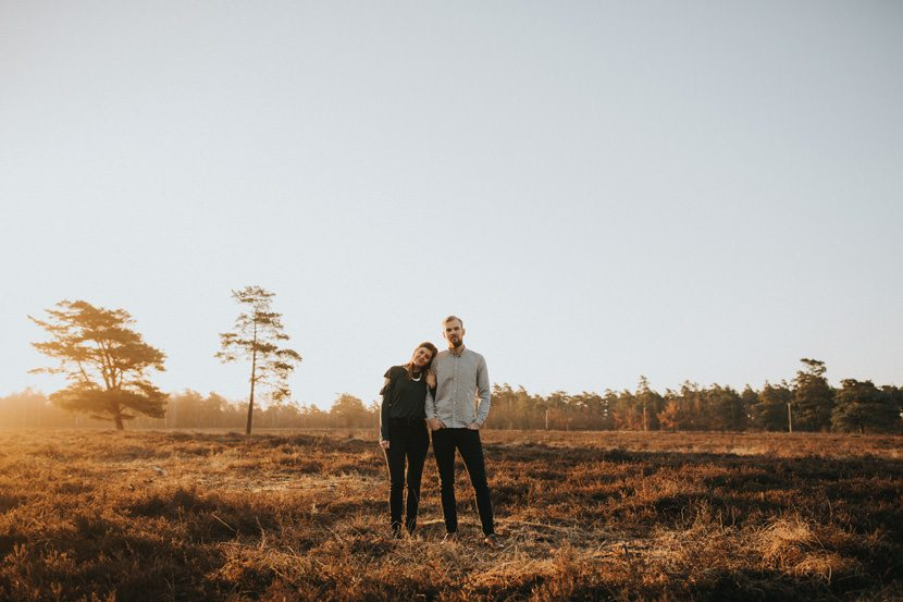 Parfotografering ljunghusen soluppgång // Loke Roos