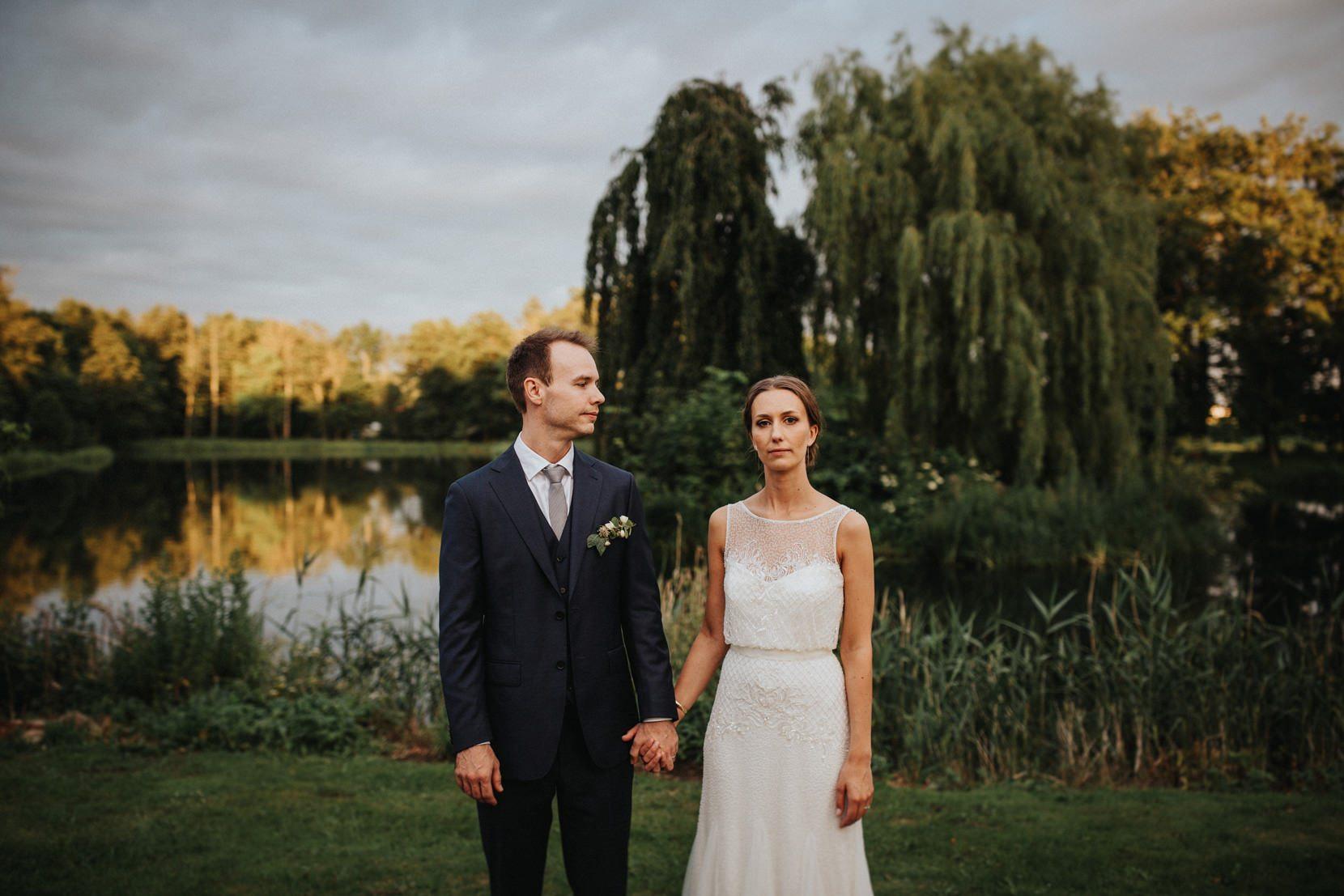 Bröllopsfotograf Rosenlunds Gård Skåne