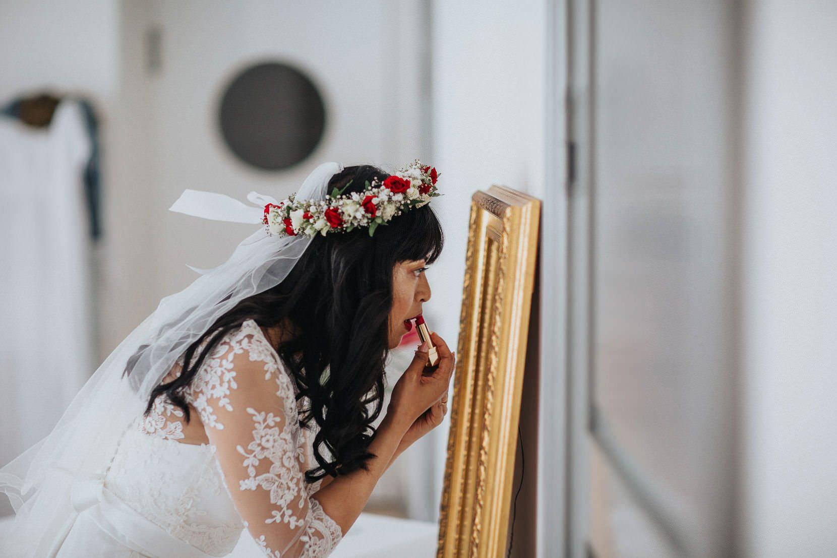 Förberedelser bröllop kronovall