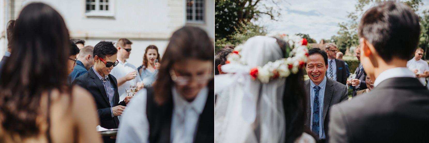 Bröllop mingel Kronovalls Vinslott