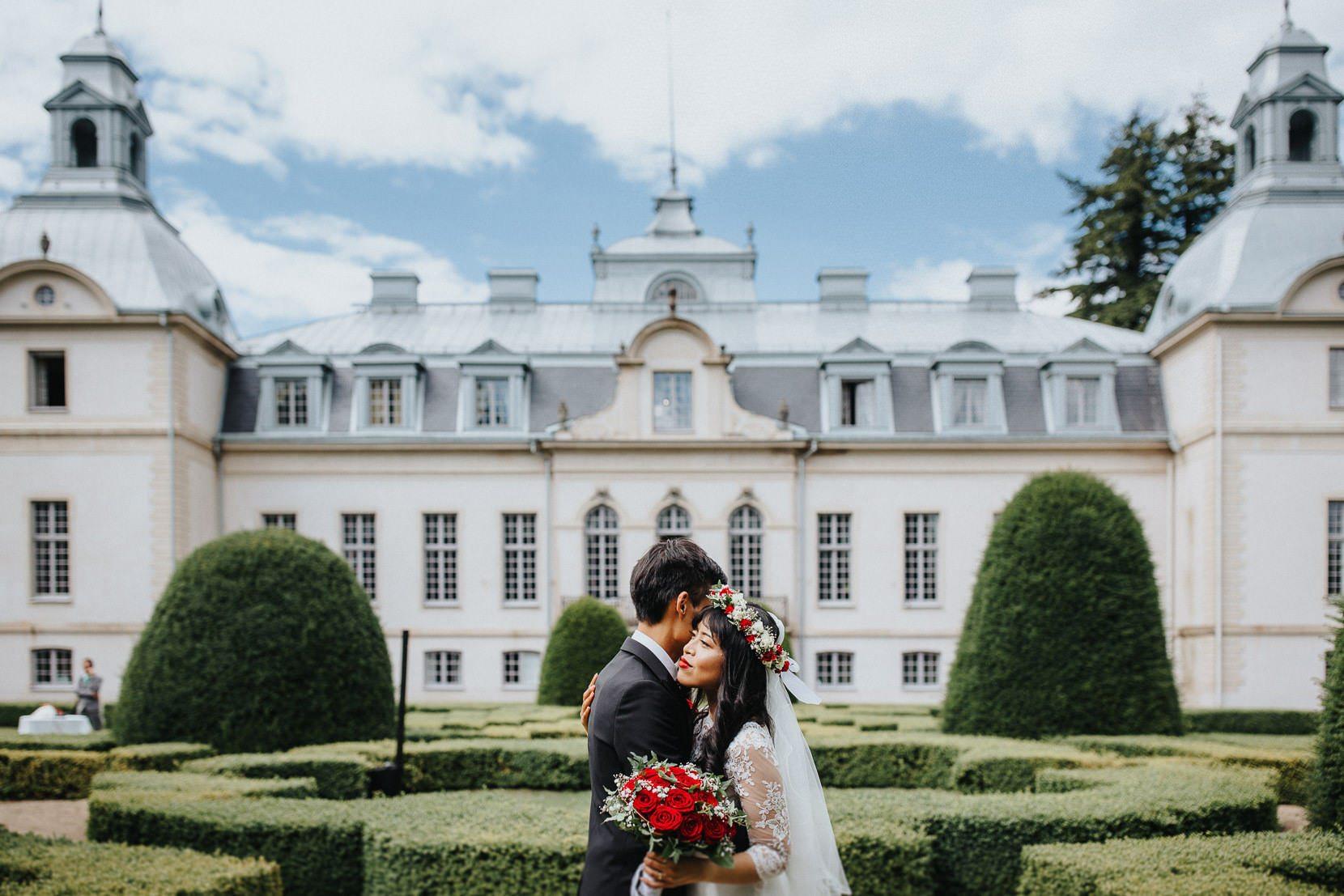 Bröllopsporträtt sommar Sverige