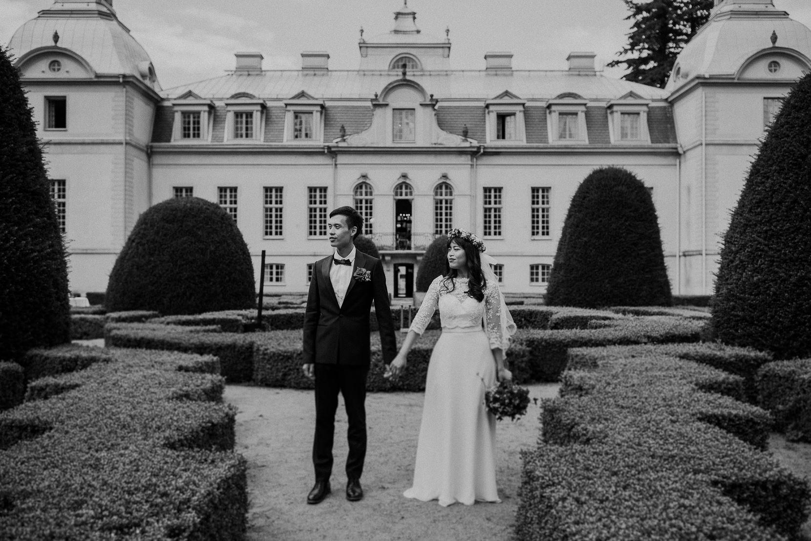 Kronovalls Vinslott Bröllopsporträtt