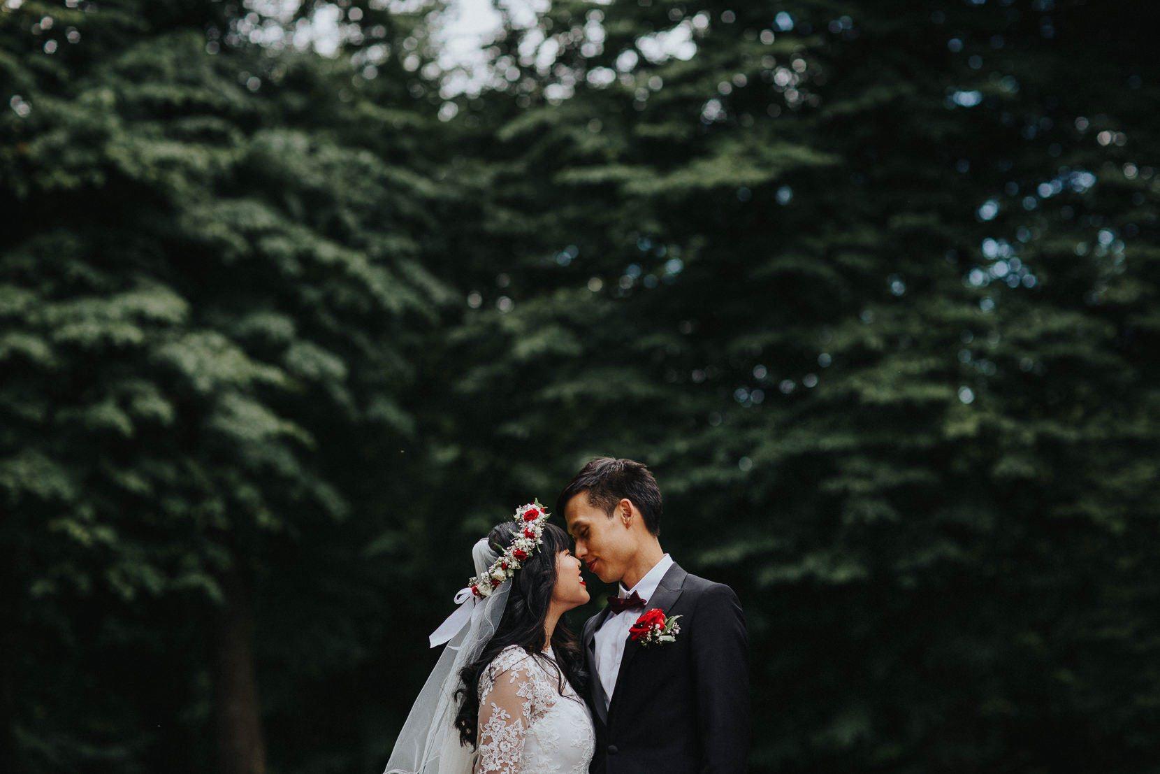 Bröllopsfotograf Kronovalls Vinslott Österlen