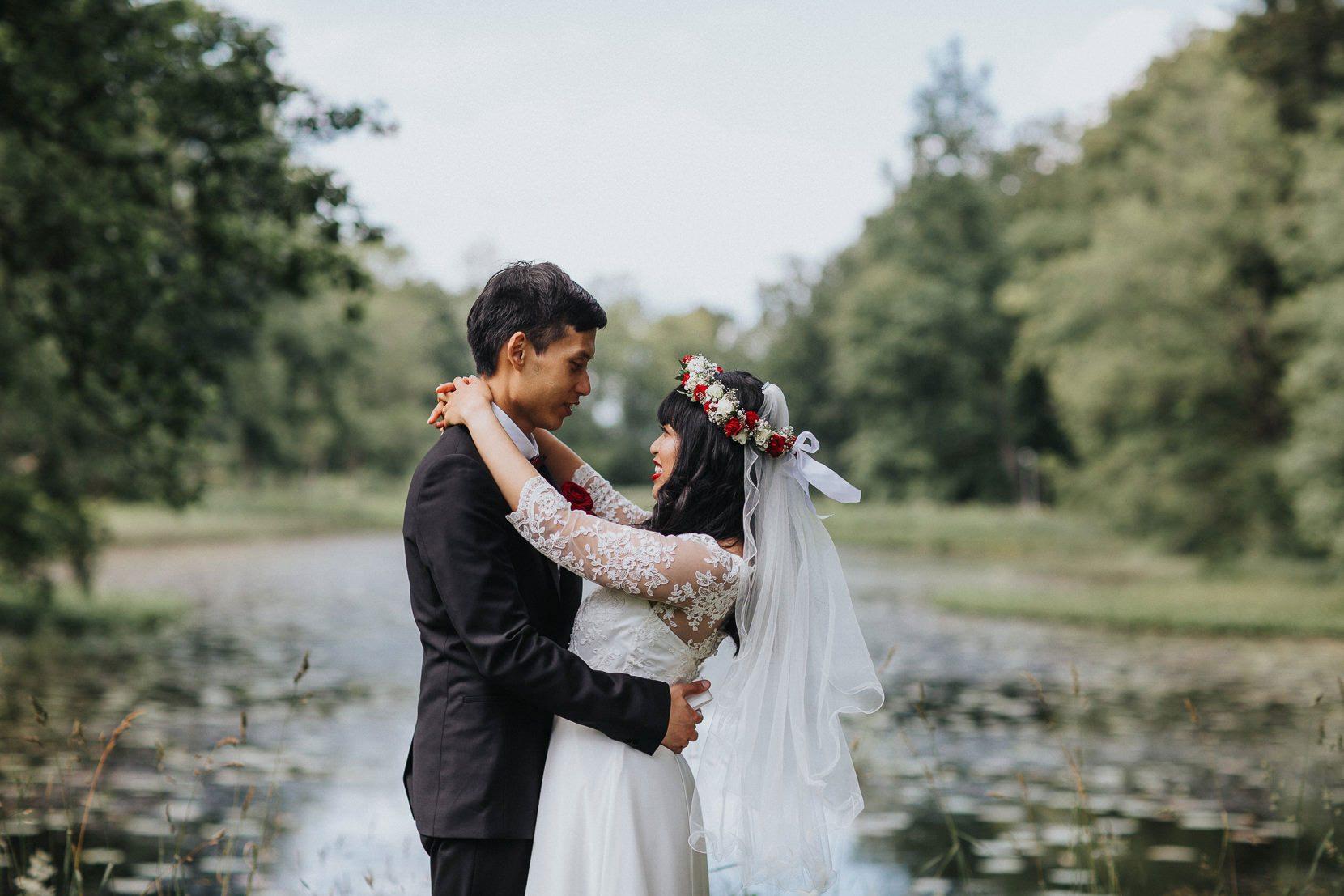 Bröllopsporträtt Österlen