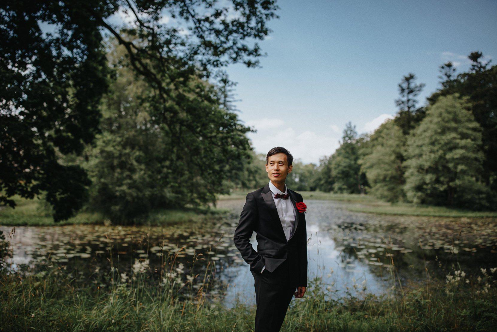 Brudgum Bröllop Österlen