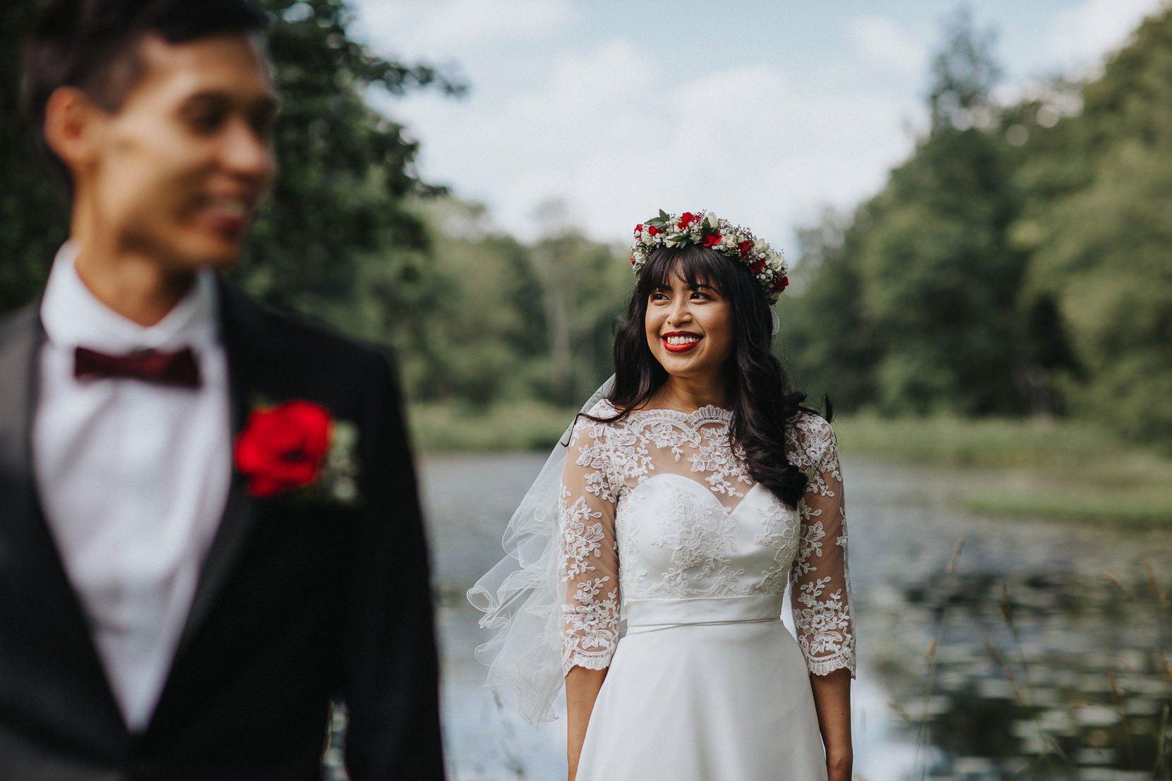 Brud bröllop österlen Skåne