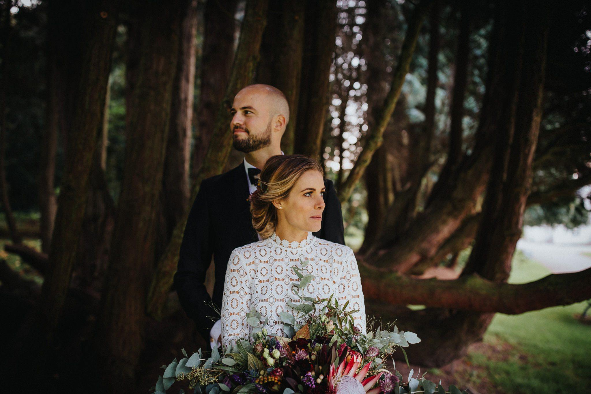 Bröllopsporträtt Bröllopsfotograf Skåne