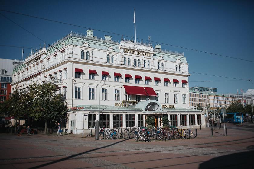 Bröllopsfotograf Göteborg Hotel Eggers