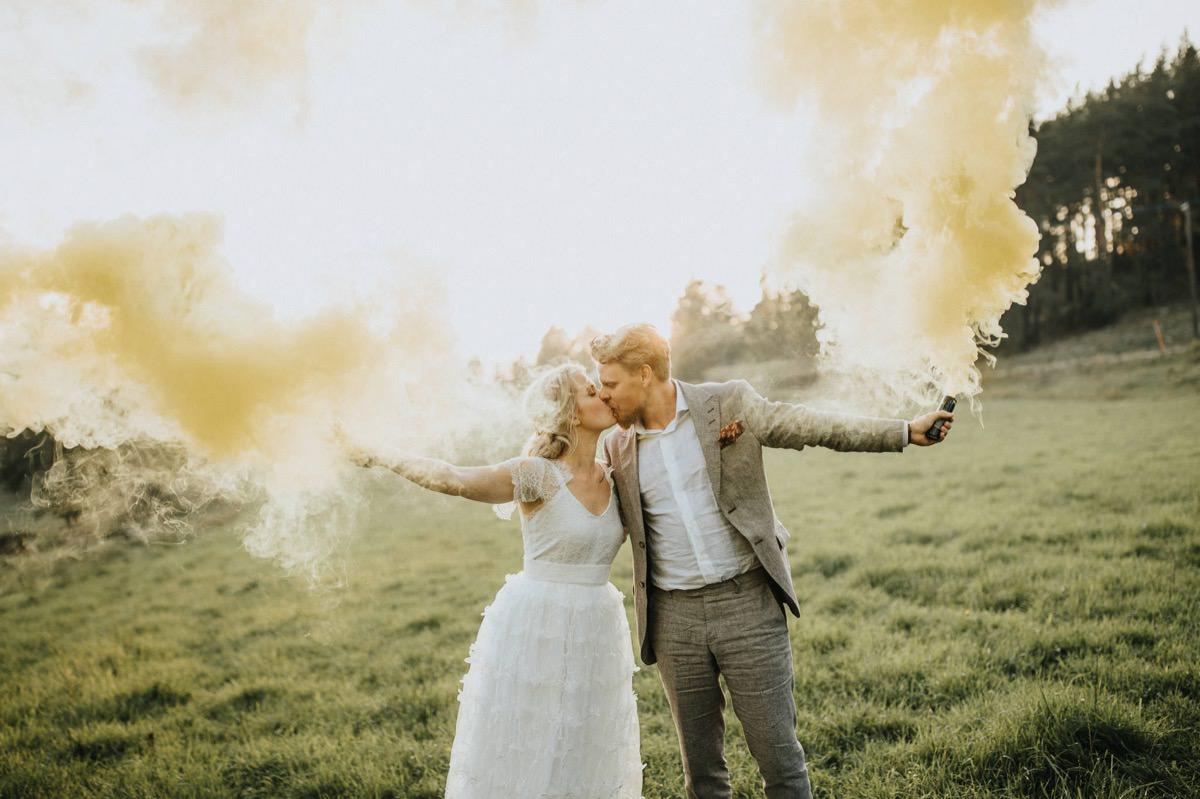Bröllopsfotograf Kvarnkulla Trädgård Östergötland