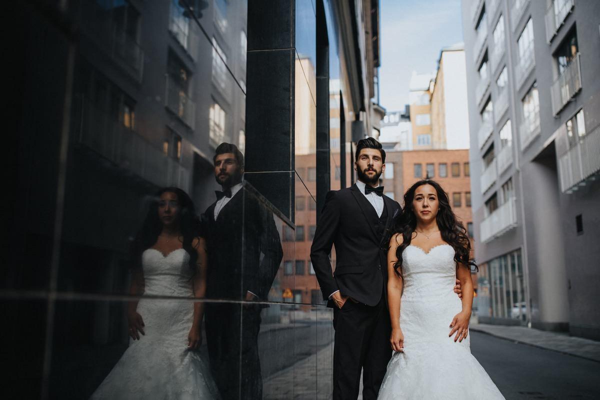 Bröllopsfotograf Stockholm Sverige