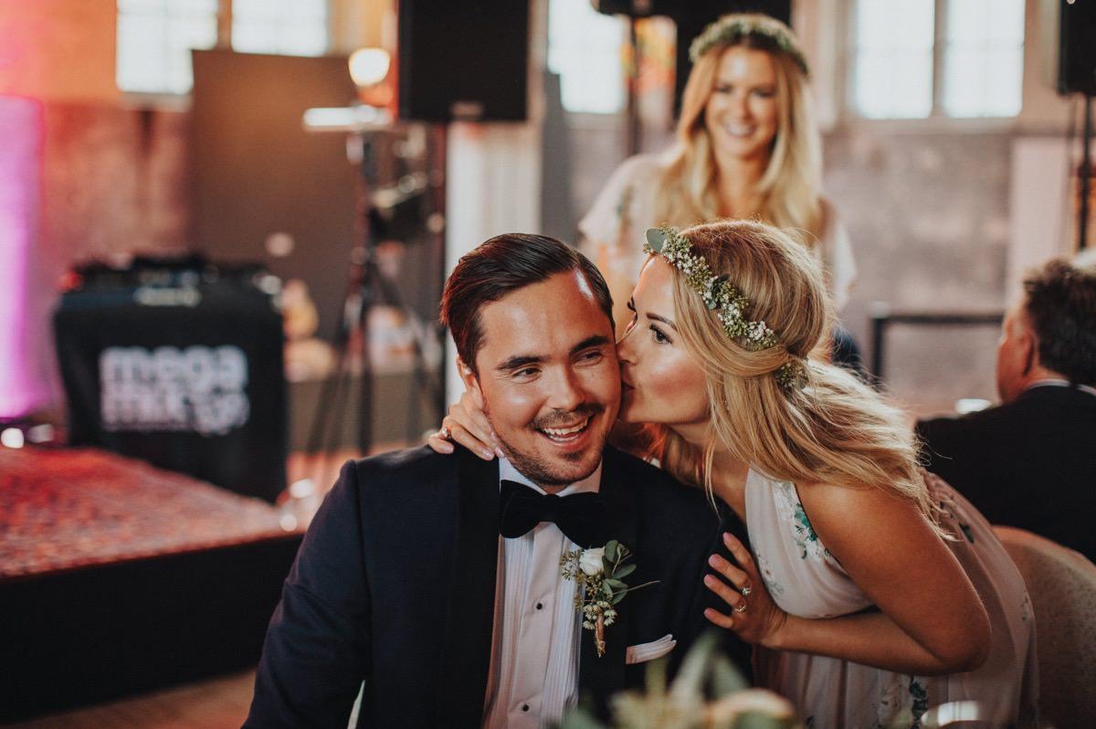 kyss bröllop sliperiet