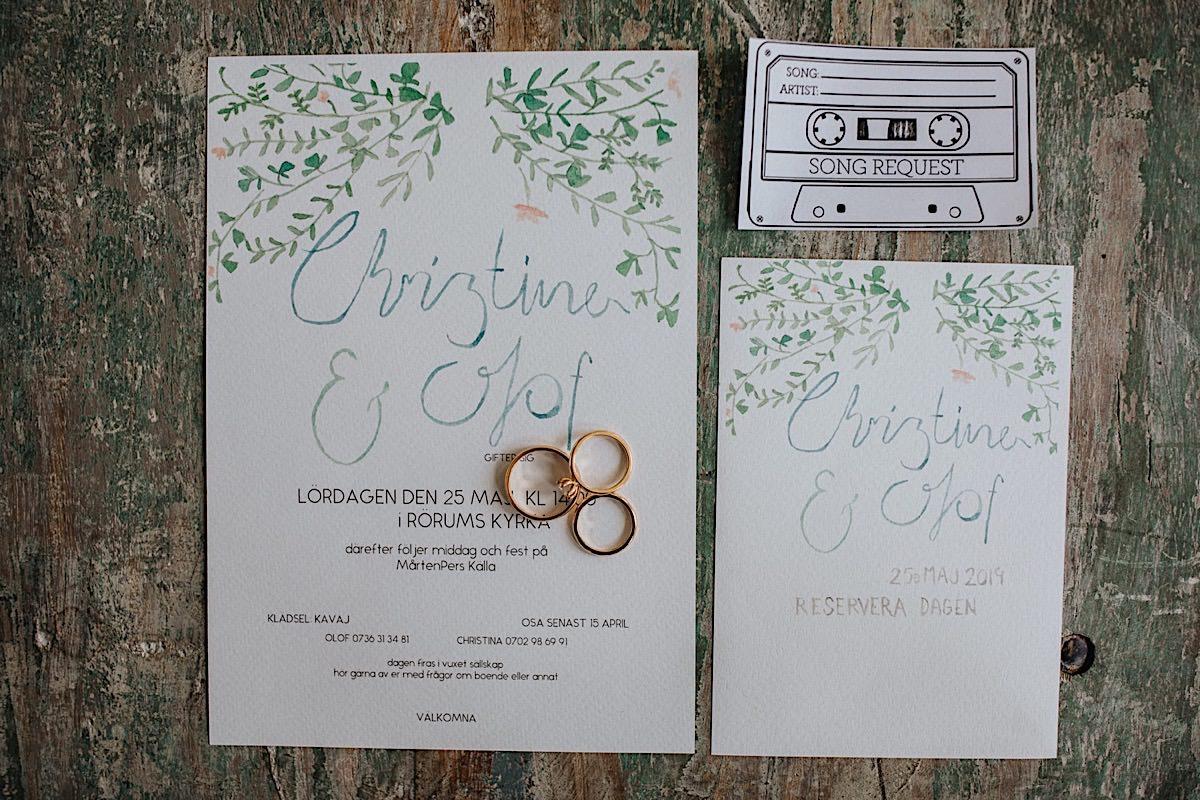 Mårtenpers Bo detaljer bröllop