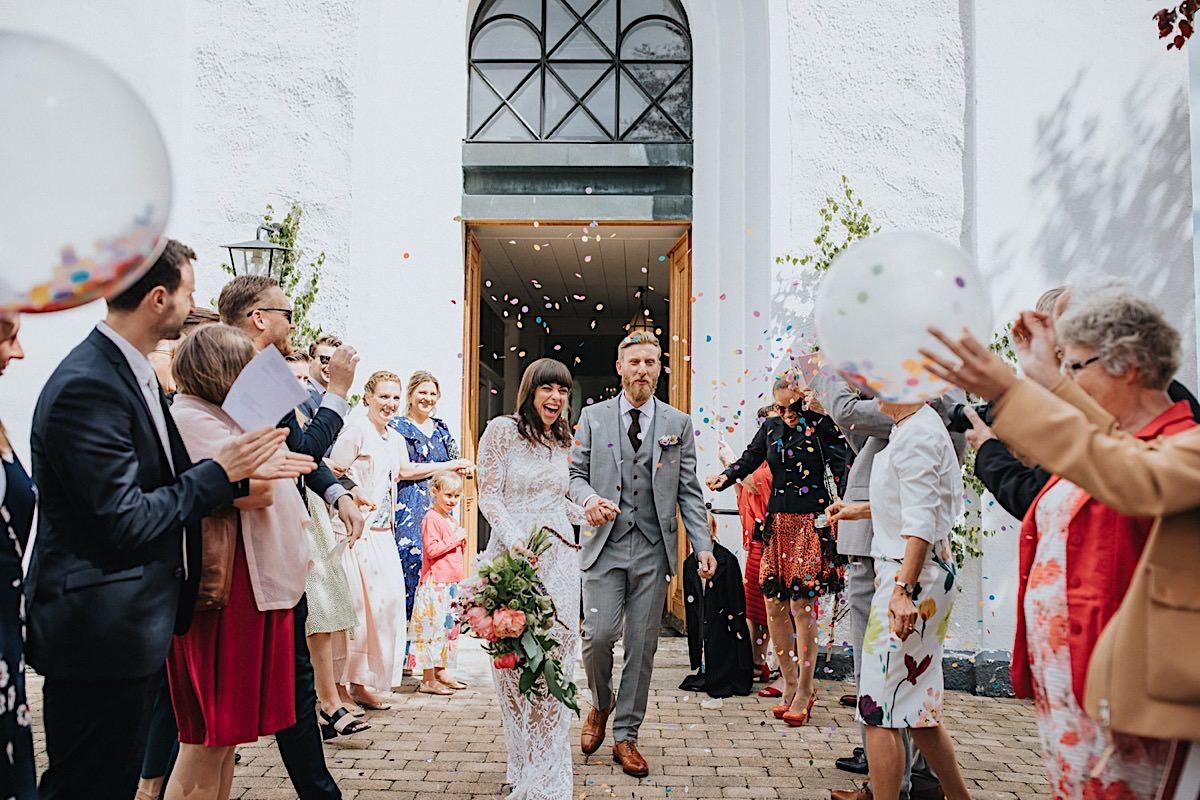 Konfetti österlen bröllop