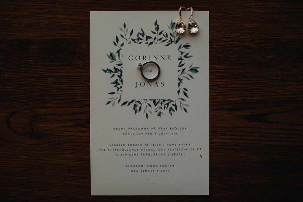 Bröllopsfotograf Norrvikens Trädgårdar Båstad